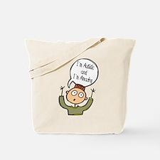 Autistic & Amazing Tote Bag