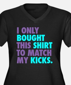 I ONLY BOUGHT THIS SHIRT TO M Women's Plus Size V-