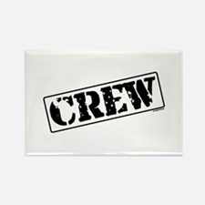 Crew Stamp Rectangle Magnet (10 pack)