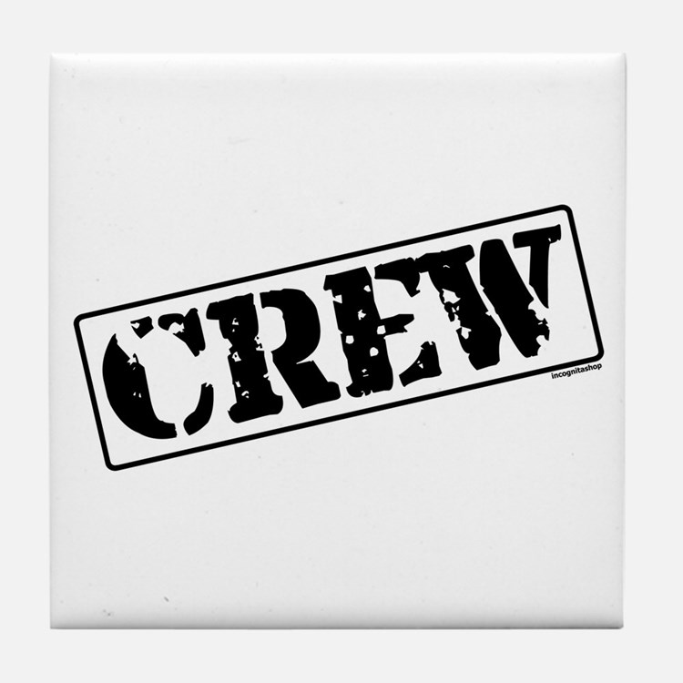 Crew Stamp Tile Coaster