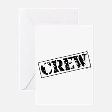 Crew Stamp Greeting Card