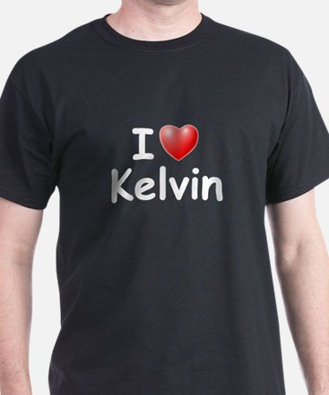 I Love Kelvin (W) T-Shirt