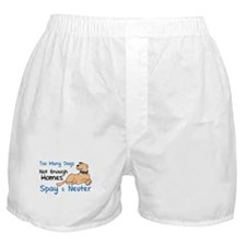 Too Many Dogs - Spay & Neuter Boxer Shorts