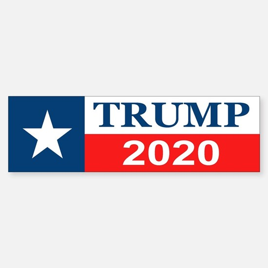 Trump 2020 Bumper Car Car Sticker