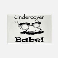 Undercover Babe Rectangle Magnet (10 pack)