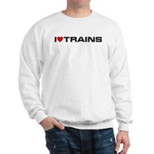 I Love Trains Jumper