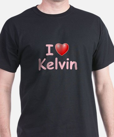 I Love Kelvin (P) T-Shirt