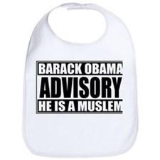 Barack Oboma Advisory - He Is Bib