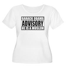 Barack Oboma Advisory - He Is T-Shirt
