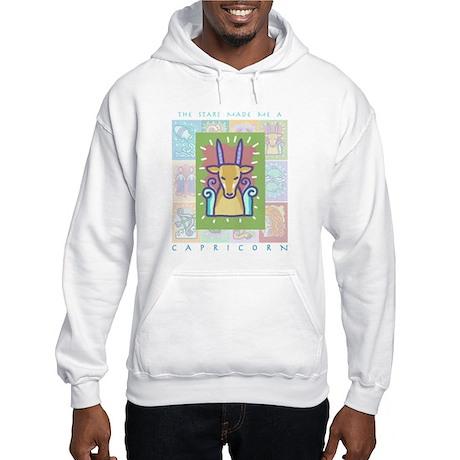 """Capricorn"" Hooded Sweatshirt"