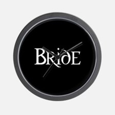 Bride - Gothic Morph Wall Clock