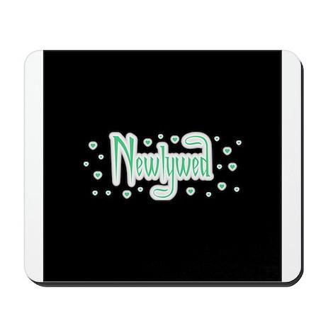 Newlywed - Charmed Green Mousepad