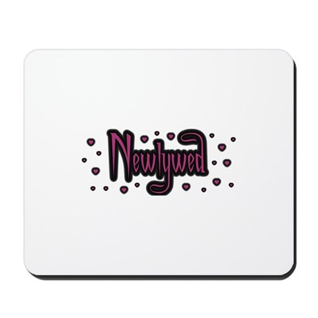 Newlywed - Charmed Pink Mousepad