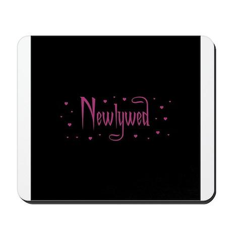 Newlywed - Charmed Pink Mousepad