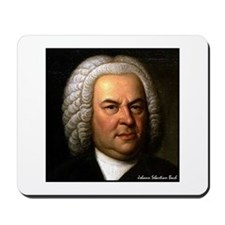 "Faces ""Bach"" Mousepad"