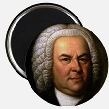 "Faces ""Bach"" Magnet"