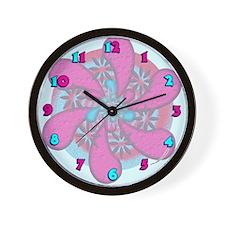 60's Pop Art Wall Clock