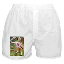 ALICE AND THE CATERPILLAR Boxer Shorts