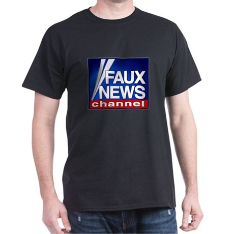 FAUX NEWS Dark T-Shirt