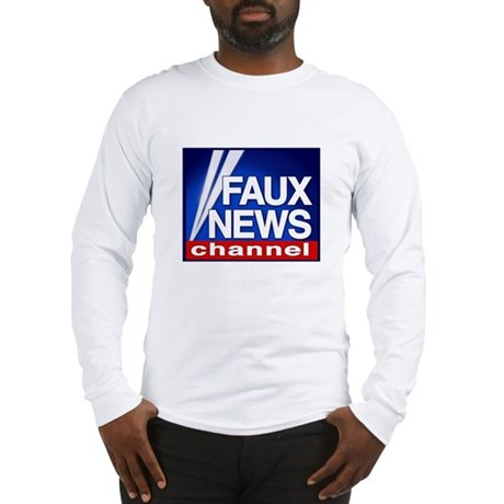 FAUX NEWS Long Sleeve T-Shirt
