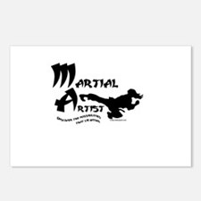 Martial Artist Postcards (Package of 8)