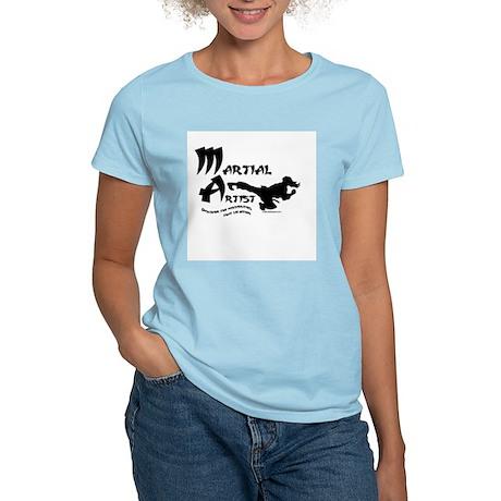 Martial Artist Women's Light T-Shirt