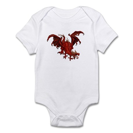 Red Dragon Infant Bodysuit