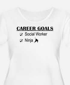 Social Worker Career Goals T-Shirt