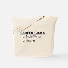 Social Worker Career Goals Tote Bag