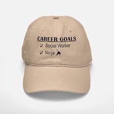 Social Worker Career Goals Baseball Baseball Cap