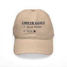 Social Worker Career Goals Baseball Cap