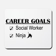 Social Worker Career Goals Mousepad