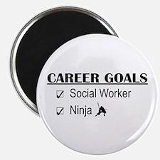 Social Worker Career Goals Magnet