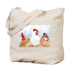 Three Hens Tote Bag