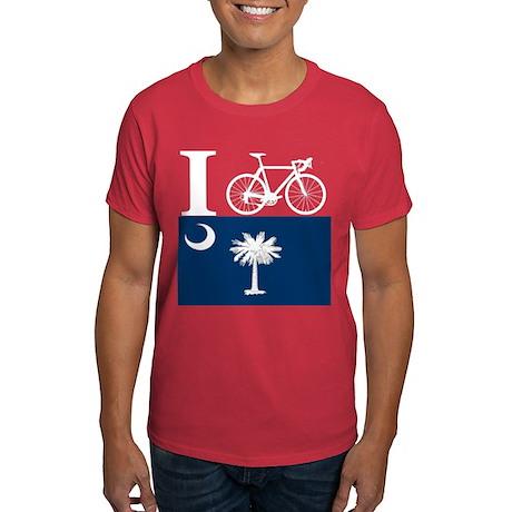 I BIKE South Carolina Dark T-Shirt