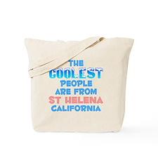 Coolest: St Helena, CA Tote Bag