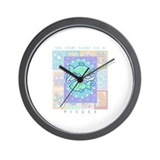"""Pisces"" Wall Clock"