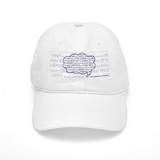 Tag Cloud Baseball Cap