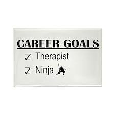 Therapist Career Goals Rectangle Magnet
