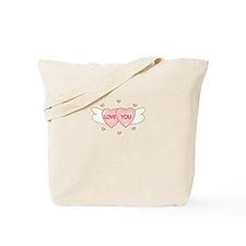 Love You Tote Bag