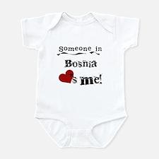 Bosnia Loves Me Infant Bodysuit