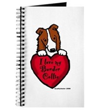 Border Collie (red) Love Journal