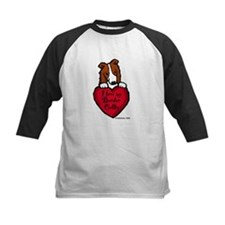 Border Collie (red) Love Tee