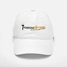 Royal Trombone Baseball Baseball Cap