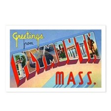 Plymouth Massachusetts Greetings Postcards (Packag