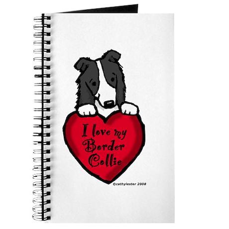 Border Collie (black) Love Journal