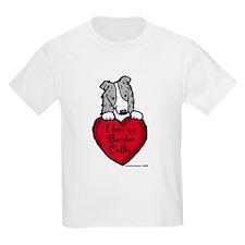 Border Collie (blue merle) Love T-Shirt