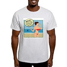 Flotation Device Ash Grey T-Shirt
