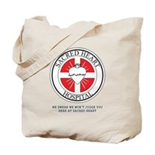Sacred Heart Hospital Tote Bag