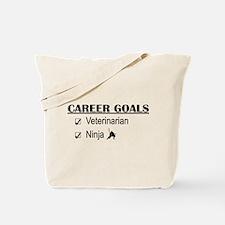 Veterinarian Career Goals Tote Bag
